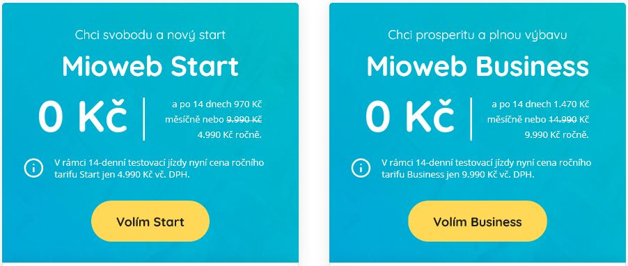 nové bezplatné stránky pro připojení
