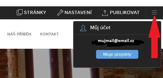 profil směřuje na seznamovací stránku